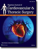 Nigerian Journal of Cardiovascular & Thoracic Surgery